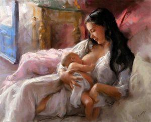 Богоматерь с младенцем на руках (практики)