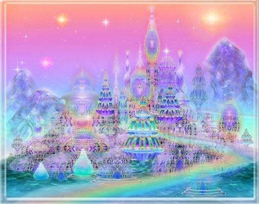 Строительство Города Света, города богов, Асгард, Олимп, Беловодье