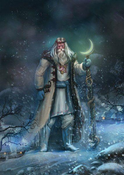 ✨С 31 Октября по 1 ноября— Велесова ночь. Ночь Силы.🌛